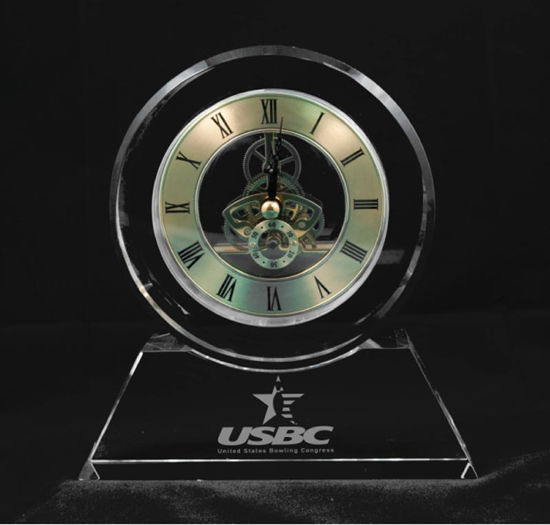 Picture of Heavy Crystal Clock
