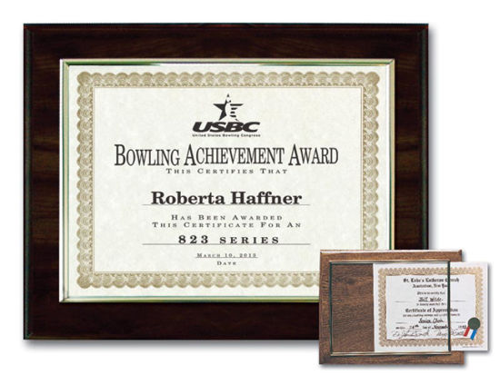 """Picture of E-Z Recognition Plaques(11.5"""" x 17"""")"""