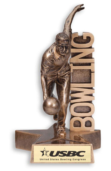 Picture of Resin Bowling Figure