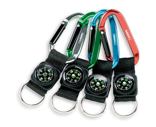 Picture of Carabiner Compasses (State/Local Logo)