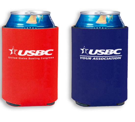 Picture of Collapsible Koozie® Can Koolers (State/Local Logo)