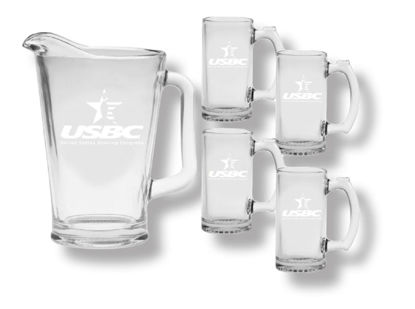 Picture of Glass Pitcher and Mug Set